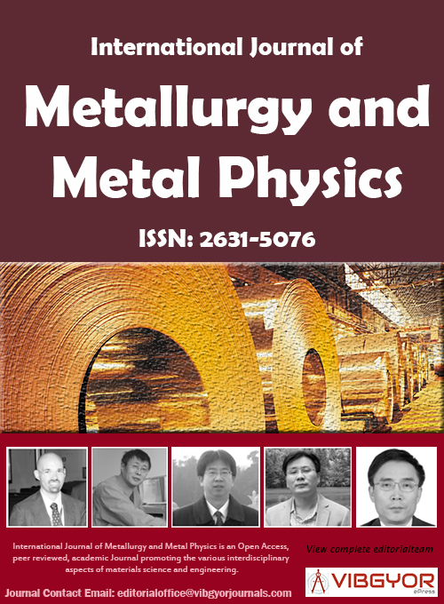 International Journal of Metallurgy and Metal Physics
